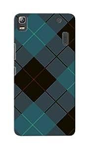 CimaCase Argyle Designer 3D Printed Case Cover For Lenovo K3 Note