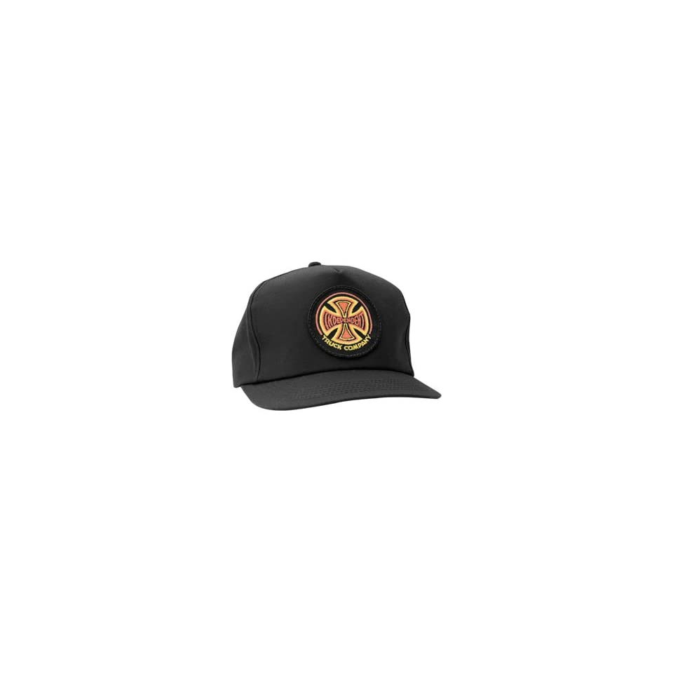Independent Red White 78 Hat Adj [Black]