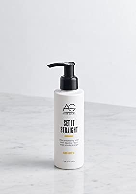 AG Hair Set It Straight Argan Straightening Lotion, 5 Fluid Ounce