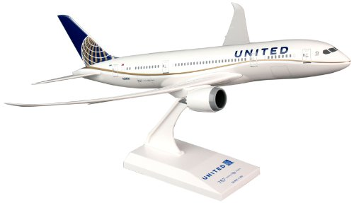 Daron Skymarks SKR709 United 787-8 Airplane Model Building Kit, 1/200-Scale (Boeing 787 Model compare prices)