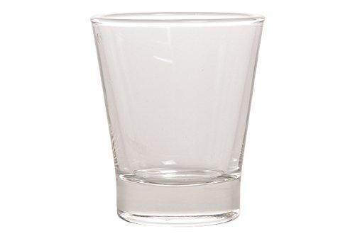 Bormioli 120202-B33 Caffeino Areibia Verre à Café Transparent 8,5 cl Set de 6