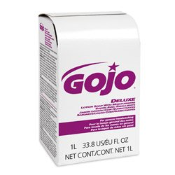 GOJO NXT Lotion Soap w/Moisturizers Refill, Lt Floral Liquid, 1000ml Box, 8/ctn