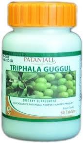 Baba Ramdev- Divya Triphala Guggul - 60 Tablets