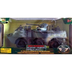Buy Low Price M & C Toy World Peacekeepers Power Team Elite Infantry Fighting Vehicle (IFV) with Action Figures (B002UPQ5NY)