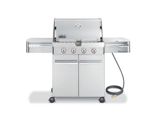Weber 1810001 Summit S-420 Natural Gas Grill, Stainless Steel