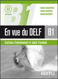 Cover En vue du Delf B1. Con CD Audio