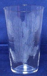 Traders & Co. Hand-Etched Cactus Tumbler Glass , Set/4 - 7