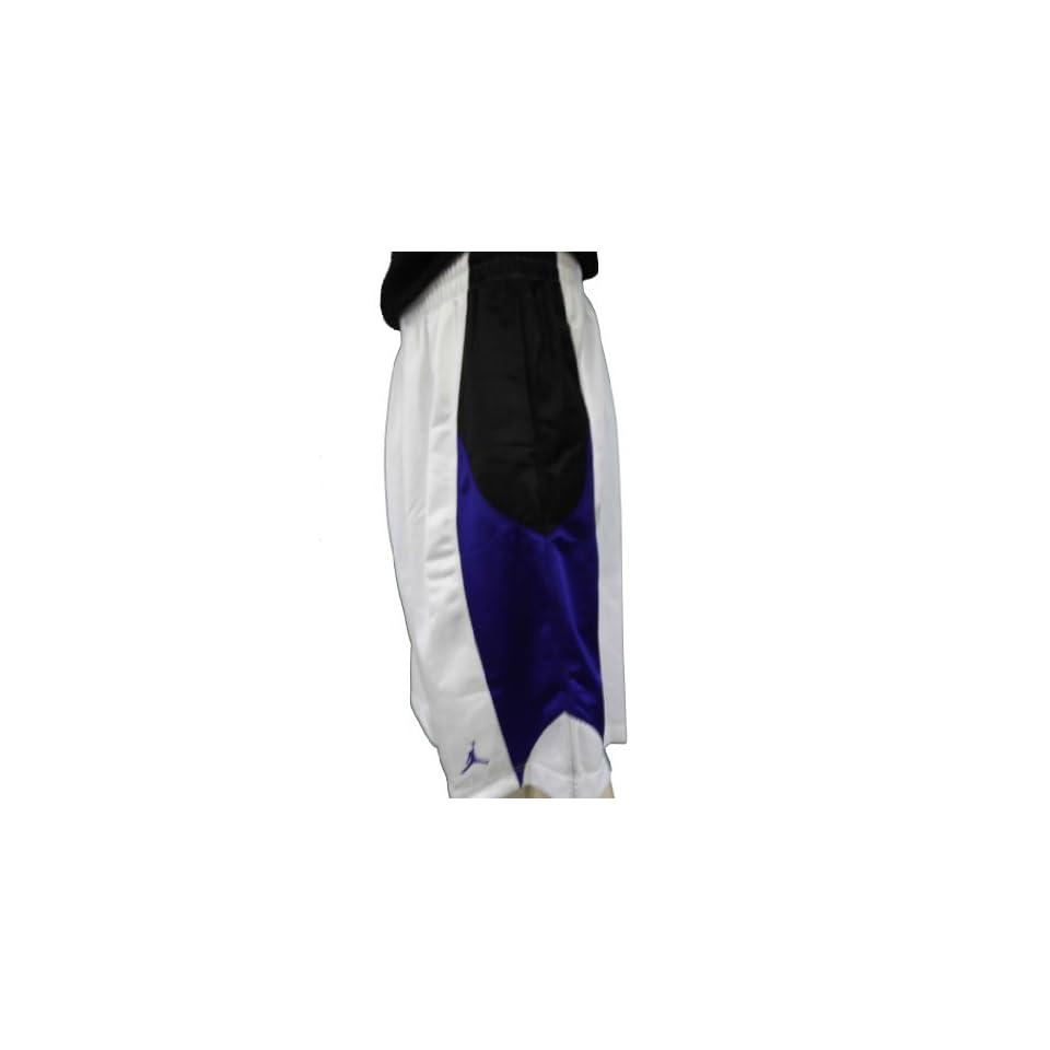 Nike Air Jordan Jumpman 23 Basketball Shorts White Size L 404309 102