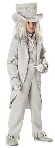 InCharacter Costumes LLC Boys 8-20 Ghostly Gent Tattered Coat Set White Medium  sc 1 st  Holiday Toys & InCharacter Costumes LLC Boys 8-20 Ghostly Gent Tattered Coat Set ...