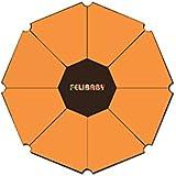 ¡Mattimo! Die neue Spielmatte, passgenau für alle gängigen 8-Eck-Laufgitter - orange