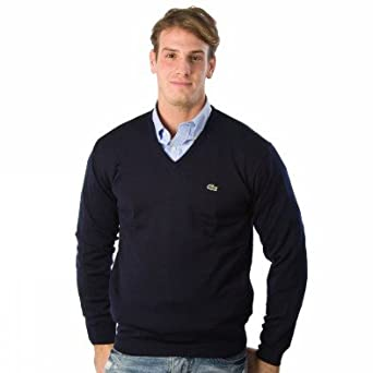 lacoste pullover ah0704 166 herren pullover xl amazon. Black Bedroom Furniture Sets. Home Design Ideas