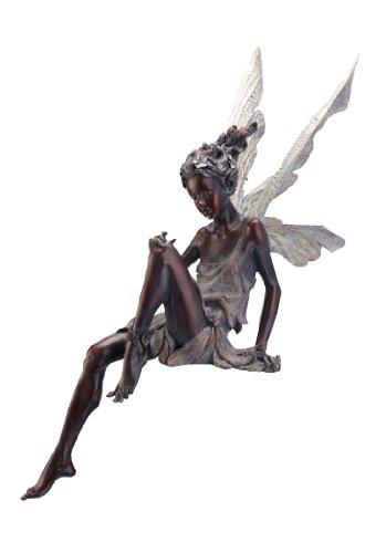 Garden Statue Fairy: Napco Sitting Fairy Garden Statue, 24-Inch Tall