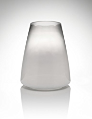 Conran Short Fading Glass Vase