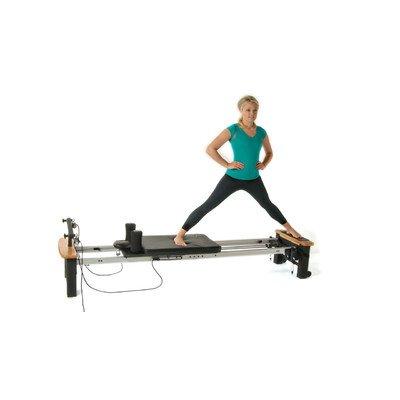 Stamina AeroPilates Pro XP Home Pilates Reformer with Free-Form Cardio Rebounder
