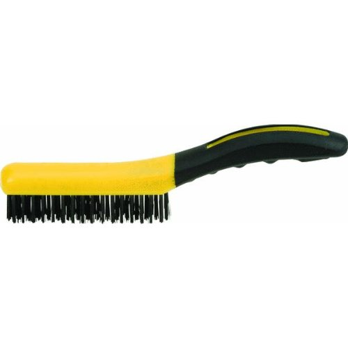 Hyde Tools Shoe Hand Wire Brush 46802 Wire/Scrub Brushes