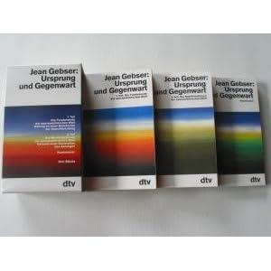 Ursprung und Gegenwart, 3 Bde.
