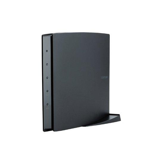 ELECOM【iphone6 対応】11ac/n/a/g/b  無線LAN親機(Wi-Fiルーター) 1300+450Mbps WRC-F1750ACGH(利用推奨環境6人・4LDK以上・3階建)