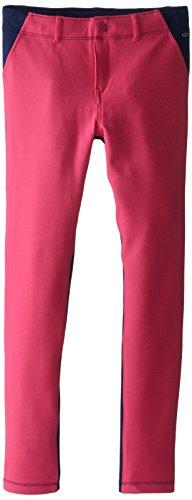 Tommy Girl Big Girls' Colorblock Ponte Pant, Lollipop, 8