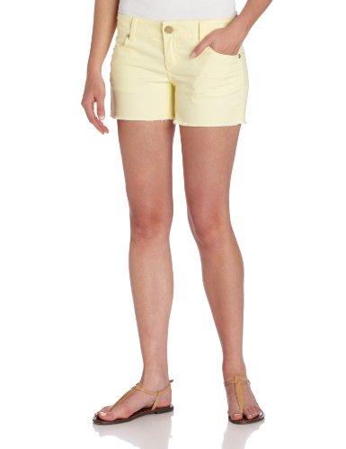 U.S. Polo Assn. Juniors Island Colored Denim Short, Lemon Frost, 11