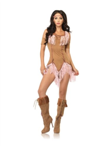 3 Piece Indian Maiden Costume