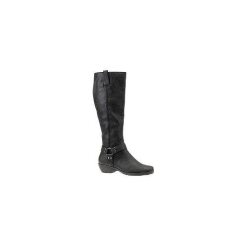 Aerosoles Women's Mezzotini Knee-High Boot,Black,7.5 M Us