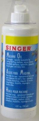 Singer Huile pour machine à coudre - Bouteille en plastique souple - 118 ml (Ensemble de 3)