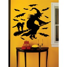 Martha Stewart Crafts Halloween Witch Wall Cling
