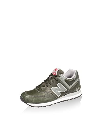New Balance Zapatillas Lifestyle L574 Verde Oscuro