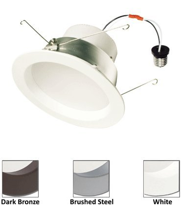 "American Lighting 6"" E-Pro Series Led Recessed Downlight 3000K White Trim 1000 Lumens Ep6H-E26-30-Wh"