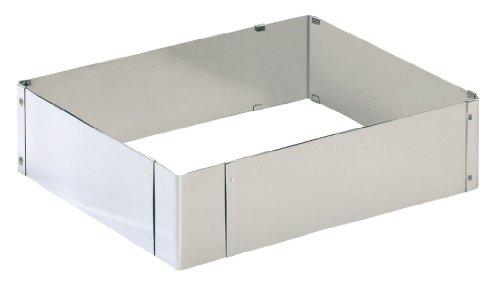 2300769400 Patisserie Back- und Dekorierrahmen  Edelstahl  6 cm hoch  ausziehbar von 24 x 20 - 46 x 38 cm