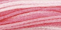 Coats & Clark Six Strand Embroidery Floss 8.75 Yards Shaded Roses C11-201; 24 Items/Order