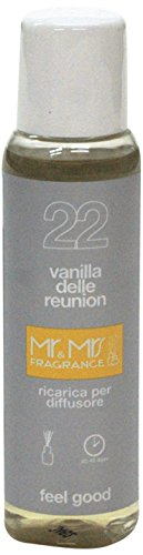 Mr&Mrs easy fragrance 022 Indian Ocean vanilla delle reunion 詰め替えボトル100ml