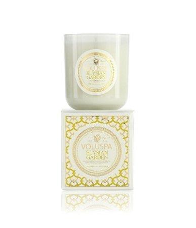 Voluspa Elysian Garden Classic Maison Candle, 100 hour 12 oz