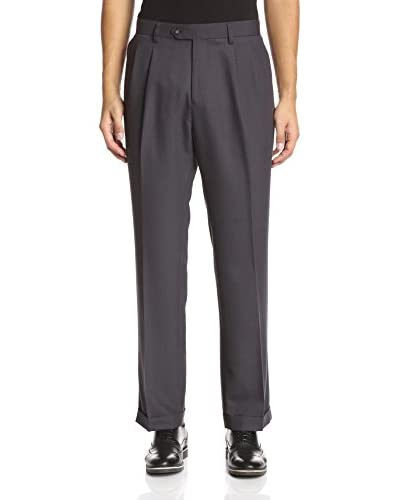 Cutter & Buck Men's Twill Microfiber Pleated Pant