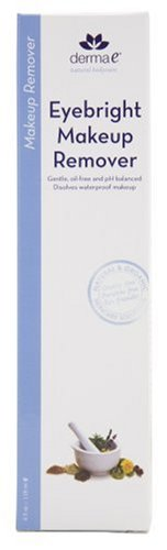 derma e Eyebright Makeup Remover, 4 fl oz (118 ml) (Pack of 3)