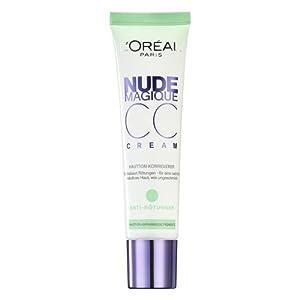 L'Oréal Paris Nude Magique CC Cream Anti-Rötungen, 1er Pack (1 x 30 ml)