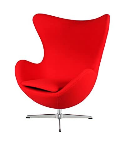 Stilnovo The Slattery Lounge Chair, Red
