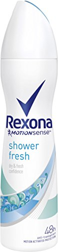 Rexona Shower Fresh Deodorante Donna, 150 ml, 6 pezzi
