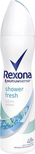 Rexona Shower Fresh Deodorante Donna, 150 ml, 6 pezzi