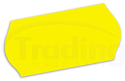 26 x 12mm / CT4 etiquettes jaunes pour etiqueteuse prix 10 Rouleaux (10,000 etiquettes) yellow