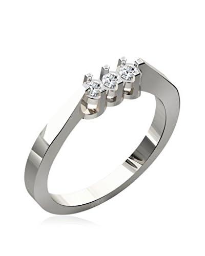 Friendly Diamonds Anello [Oro Bianco]