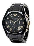 Emporio Armani Keramik Uhr Herrenuhr Chronograph AR1413 Cera...