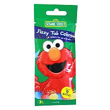 Sesame Street Tub Colors, Fizzy, 9 ct. (1 Package)
