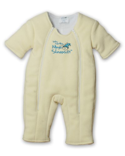 Baby Merlin's Magic Sleepsuit- Microfleece Poly-Yellow-Large