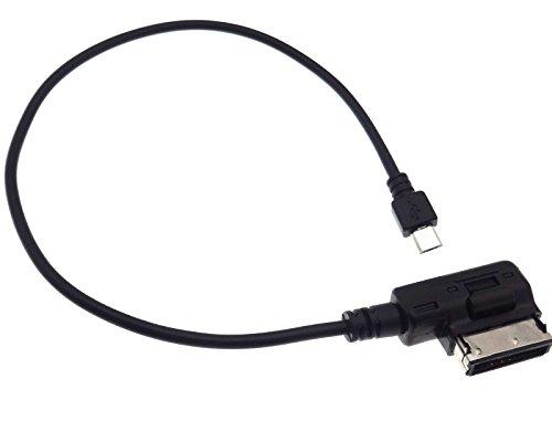 AUX Adapter micro USB Media Interface Audi MMI 3G Seat Skoda VW RCD RNS 315 510