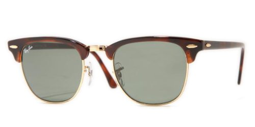 Ray Ban RB3016 Clubmaster Sunglasses Non Polarized