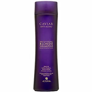 Alterna Caviar Anti-Aging Brightening Blonde Shampoo for Unisex, 8.5 Ounce