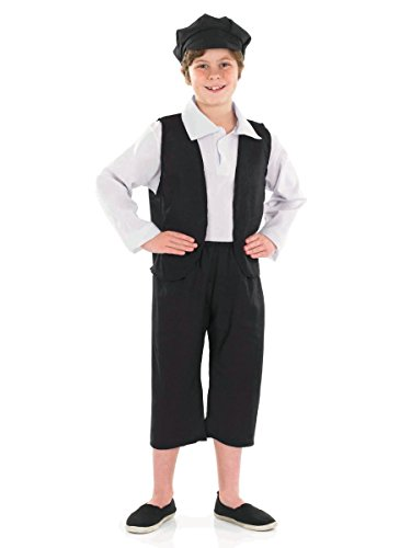 Henbrandt Value Costume Victorian Chimney Sweep (Med 7-9)