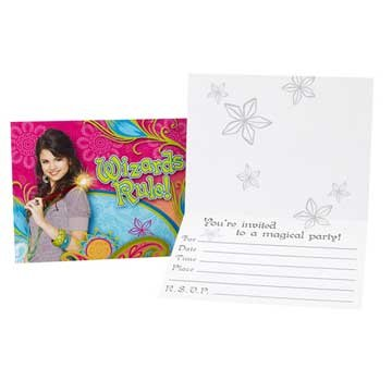 Wizards of Waverly Invitations 8ct