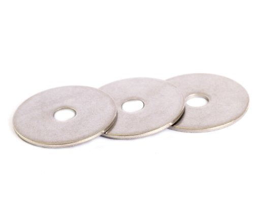 Bolt Base A2 Stainless Steel Penny Repair Washers Mudguard Washers M5 X 15 X 1mm Thick - 20